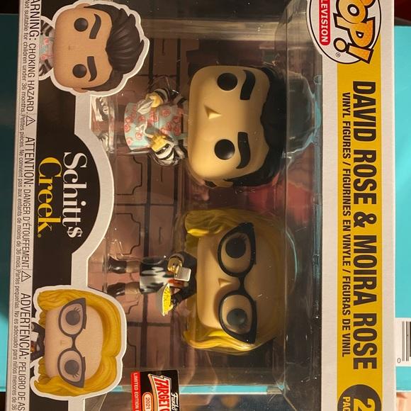 David Rose & Moira Rose 2 pack funko